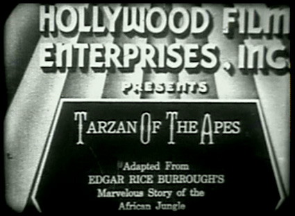 Tarzan of The Apes Movie Tarzan of The Movies by Gabe