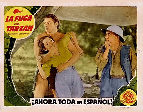 Tarzan Escapes (1936) - lobby cards