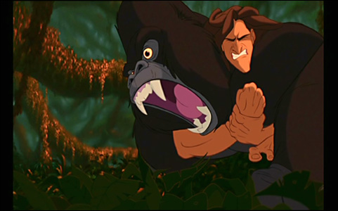 Tarzan 1999 - Tarzan gorille ...