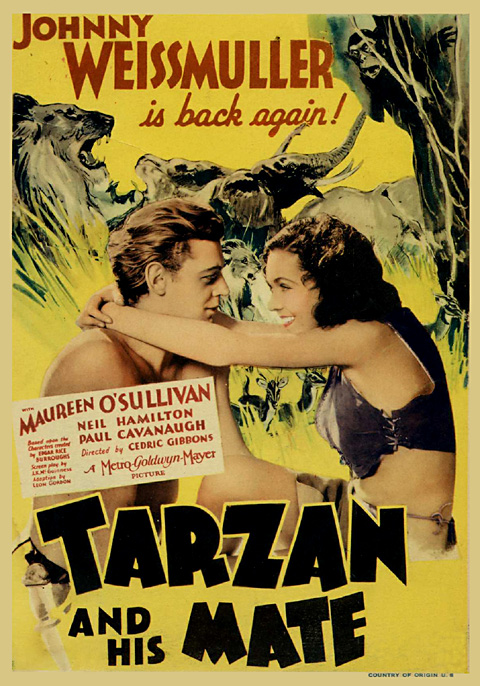 34 poster Tarzan and His Mate    the Avatar of its time?